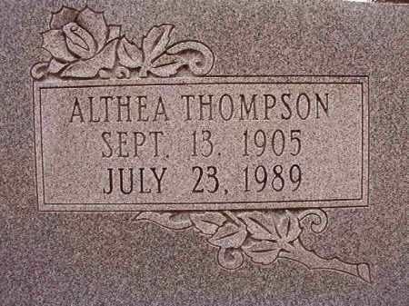 THOMPSON WELLS, ALTHEA - Columbia County, Arkansas | ALTHEA THOMPSON WELLS - Arkansas Gravestone Photos