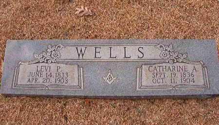 WELLS, LEVI P - Columbia County, Arkansas | LEVI P WELLS - Arkansas Gravestone Photos