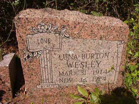 WESLEY, LUNA - Columbia County, Arkansas | LUNA WESLEY - Arkansas Gravestone Photos