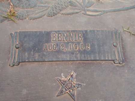 WEST, BENNIE - Columbia County, Arkansas | BENNIE WEST - Arkansas Gravestone Photos