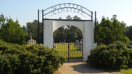 *WESTERN CEMETERY, GATE - Columbia County, Arkansas | GATE *WESTERN CEMETERY - Arkansas Gravestone Photos