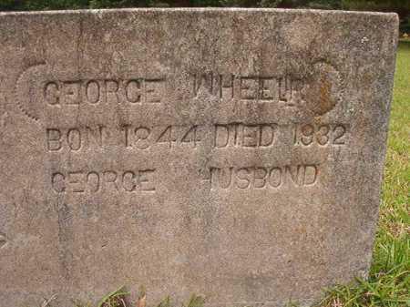 WHEELER, GEORGE - Columbia County, Arkansas   GEORGE WHEELER - Arkansas Gravestone Photos