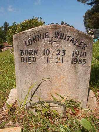 WHITAKER, LONNIE - Columbia County, Arkansas | LONNIE WHITAKER - Arkansas Gravestone Photos