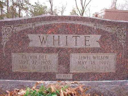 WHITE, JEWEL - Columbia County, Arkansas   JEWEL WHITE - Arkansas Gravestone Photos