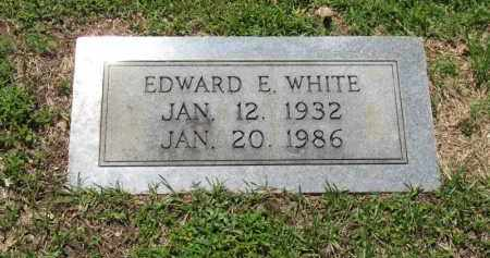 WHITE, EDWARD EUGENE - Columbia County, Arkansas | EDWARD EUGENE WHITE - Arkansas Gravestone Photos