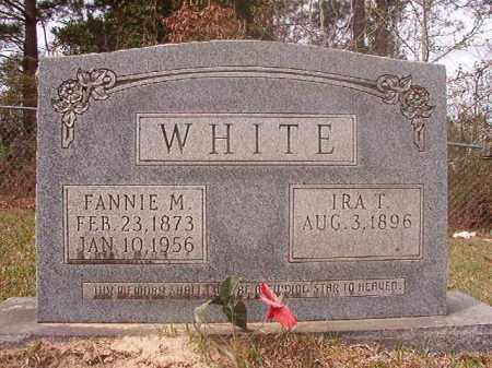 WHITE, FANNIE M - Columbia County, Arkansas | FANNIE M WHITE - Arkansas Gravestone Photos