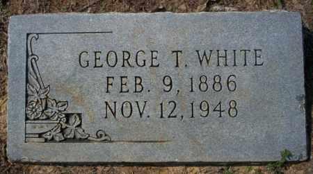 WHITE, GEORGE T - Columbia County, Arkansas | GEORGE T WHITE - Arkansas Gravestone Photos