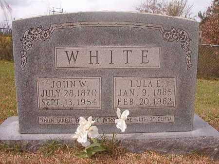 WHITE, LULA E - Columbia County, Arkansas | LULA E WHITE - Arkansas Gravestone Photos