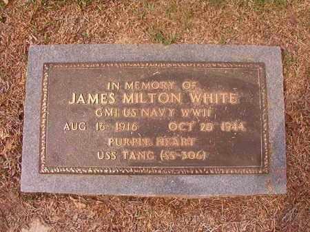 WHITE (VETERAN WWII), JAMES MILTON - Columbia County, Arkansas | JAMES MILTON WHITE (VETERAN WWII) - Arkansas Gravestone Photos