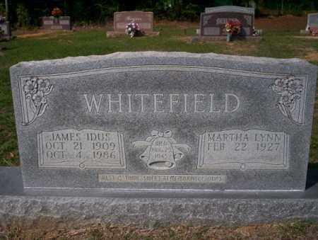 WHITEFIELD, JAMES IDUS - Columbia County, Arkansas | JAMES IDUS WHITEFIELD - Arkansas Gravestone Photos