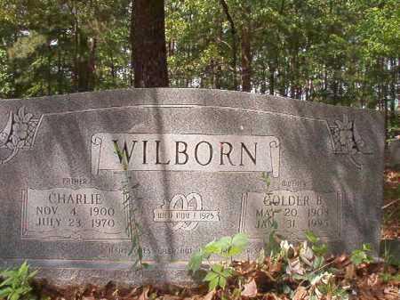 WILBORN, CHARLIE - Columbia County, Arkansas   CHARLIE WILBORN - Arkansas Gravestone Photos