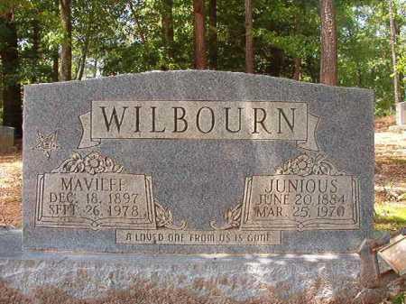 WILBOURN, JUNIOUS - Columbia County, Arkansas | JUNIOUS WILBOURN - Arkansas Gravestone Photos
