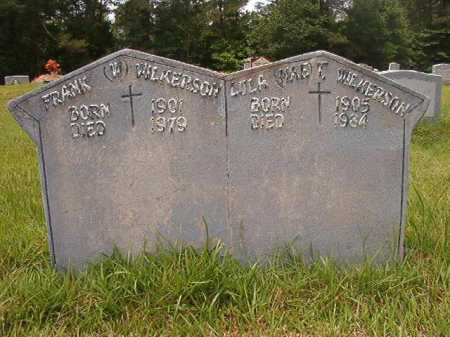 WILKERSON, FRANK W - Columbia County, Arkansas | FRANK W WILKERSON - Arkansas Gravestone Photos