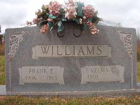 WILLIAMS, FRANK E - Columbia County, Arkansas | FRANK E WILLIAMS - Arkansas Gravestone Photos