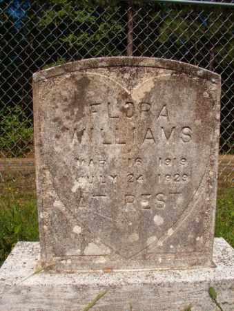 WILLIAMS, FLORA - Columbia County, Arkansas | FLORA WILLIAMS - Arkansas Gravestone Photos
