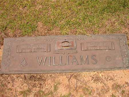 WILLIAMS, FRANK - Columbia County, Arkansas | FRANK WILLIAMS - Arkansas Gravestone Photos