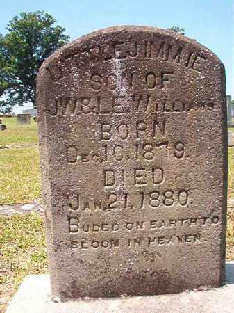 WILLIAMS, JIMMIE - Columbia County, Arkansas | JIMMIE WILLIAMS - Arkansas Gravestone Photos