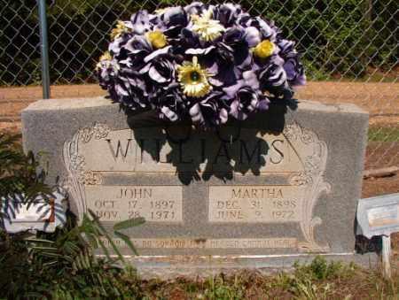WILLIAMS, JOHN - Columbia County, Arkansas | JOHN WILLIAMS - Arkansas Gravestone Photos