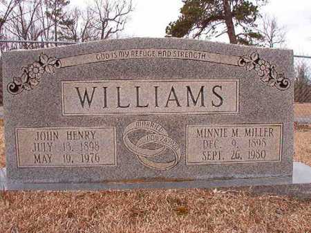 WILLIAMS, JOHN HENRY - Columbia County, Arkansas | JOHN HENRY WILLIAMS - Arkansas Gravestone Photos