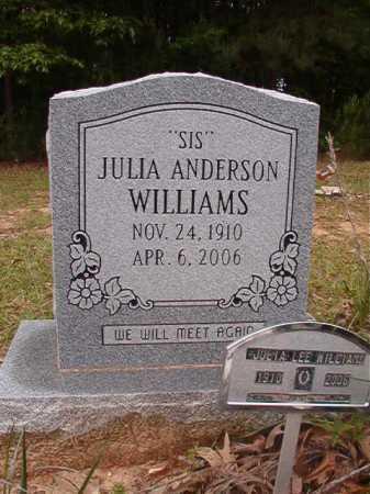 WILLIAMS, JULIA LEE - Columbia County, Arkansas | JULIA LEE WILLIAMS - Arkansas Gravestone Photos