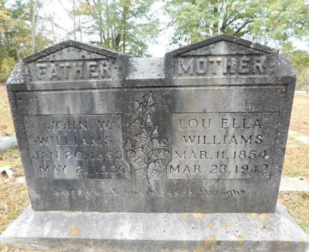 WILLIAMS, LOU ELLA - Columbia County, Arkansas | LOU ELLA WILLIAMS - Arkansas Gravestone Photos