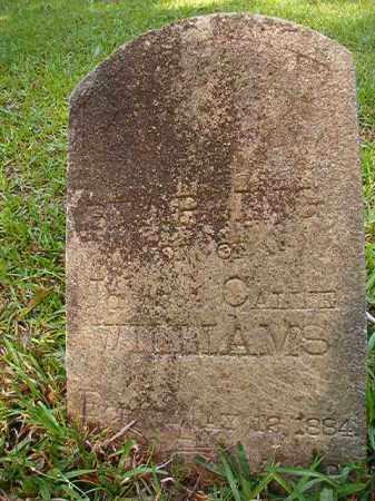 WILLIAMS, STARLING - Columbia County, Arkansas | STARLING WILLIAMS - Arkansas Gravestone Photos