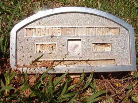 WILLINGHAM, MAXINE - Columbia County, Arkansas | MAXINE WILLINGHAM - Arkansas Gravestone Photos