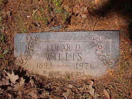 WILLIS, LULAR D - Columbia County, Arkansas   LULAR D WILLIS - Arkansas Gravestone Photos