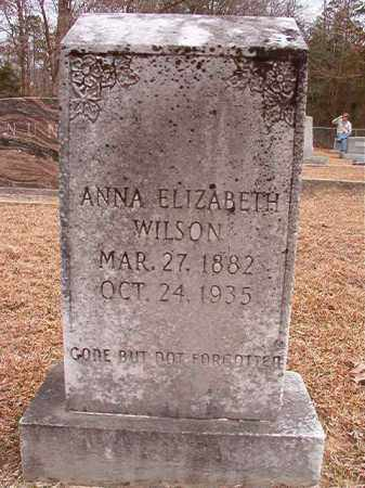 WILSON, ANNA ELIZABETH - Columbia County, Arkansas   ANNA ELIZABETH WILSON - Arkansas Gravestone Photos