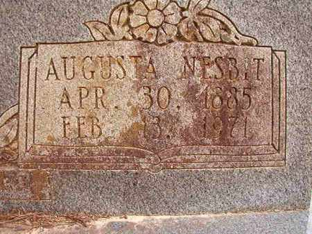 NESBIT WILSON, AUGUSTA - Columbia County, Arkansas | AUGUSTA NESBIT WILSON - Arkansas Gravestone Photos
