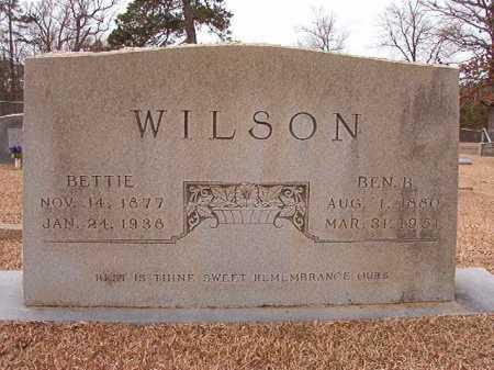 WILSON, BETTIE - Columbia County, Arkansas | BETTIE WILSON - Arkansas Gravestone Photos