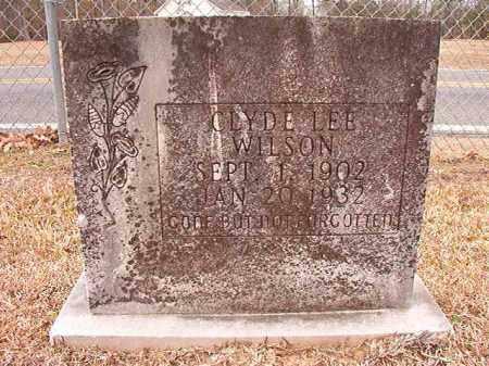 WILSON, CLYDE LEE - Columbia County, Arkansas | CLYDE LEE WILSON - Arkansas Gravestone Photos