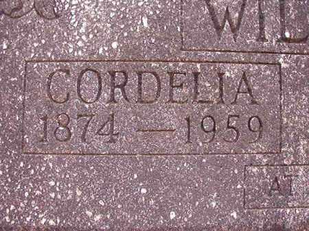 WILSON, CORDELIA - Columbia County, Arkansas | CORDELIA WILSON - Arkansas Gravestone Photos