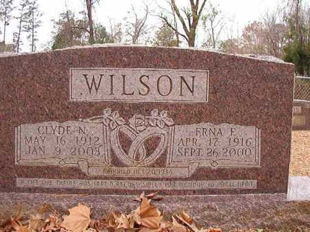 WILSON, CLYDE N - Columbia County, Arkansas | CLYDE N WILSON - Arkansas Gravestone Photos