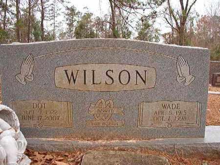 WILSON, WADE - Columbia County, Arkansas | WADE WILSON - Arkansas Gravestone Photos