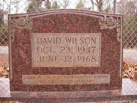 WILSON, DAVID - Columbia County, Arkansas | DAVID WILSON - Arkansas Gravestone Photos