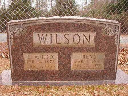 WILSON, IRENE - Columbia County, Arkansas | IRENE WILSON - Arkansas Gravestone Photos