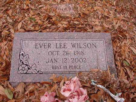 WILSON, EVER LEE - Columbia County, Arkansas | EVER LEE WILSON - Arkansas Gravestone Photos