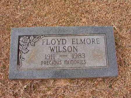 WILSON, FLOYD ELMORE - Columbia County, Arkansas | FLOYD ELMORE WILSON - Arkansas Gravestone Photos