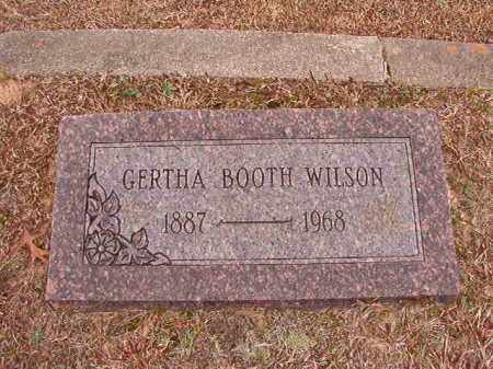 WILSON, GERTHA - Columbia County, Arkansas | GERTHA WILSON - Arkansas Gravestone Photos