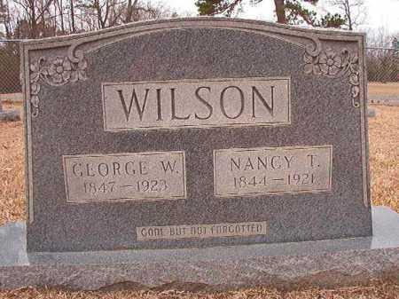 WILSON, GEORGE W - Columbia County, Arkansas | GEORGE W WILSON - Arkansas Gravestone Photos