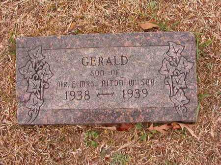 WILSON, GERALD - Columbia County, Arkansas | GERALD WILSON - Arkansas Gravestone Photos