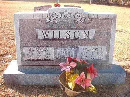 STAGGS WILSON, ILA - Columbia County, Arkansas | ILA STAGGS WILSON - Arkansas Gravestone Photos