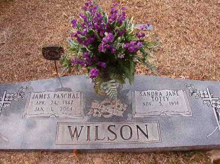 WILSON, JAMES PASCHAL - Columbia County, Arkansas | JAMES PASCHAL WILSON - Arkansas Gravestone Photos
