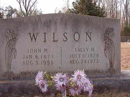 WILSON, JOHN M - Columbia County, Arkansas | JOHN M WILSON - Arkansas Gravestone Photos