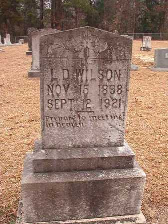 WILSON, L D - Columbia County, Arkansas | L D WILSON - Arkansas Gravestone Photos