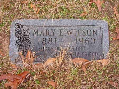 WILSON, MARY E - Columbia County, Arkansas   MARY E WILSON - Arkansas Gravestone Photos