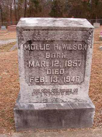 WILSON, MOLLIE H - Columbia County, Arkansas   MOLLIE H WILSON - Arkansas Gravestone Photos