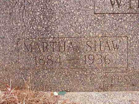 WILSON, MARTHA - Columbia County, Arkansas | MARTHA WILSON - Arkansas Gravestone Photos