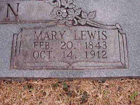 LEWIS WILSON, MARY - Columbia County, Arkansas | MARY LEWIS WILSON - Arkansas Gravestone Photos